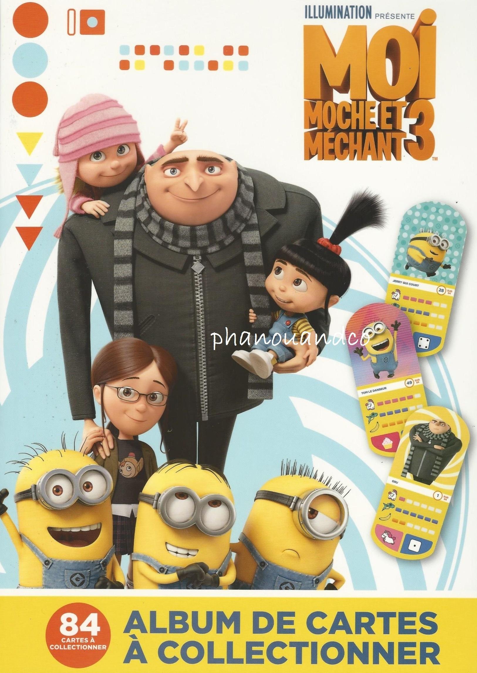 Carte Auchan Minion.Moi Moche Et Mechant Minion Cartes Auchan 2