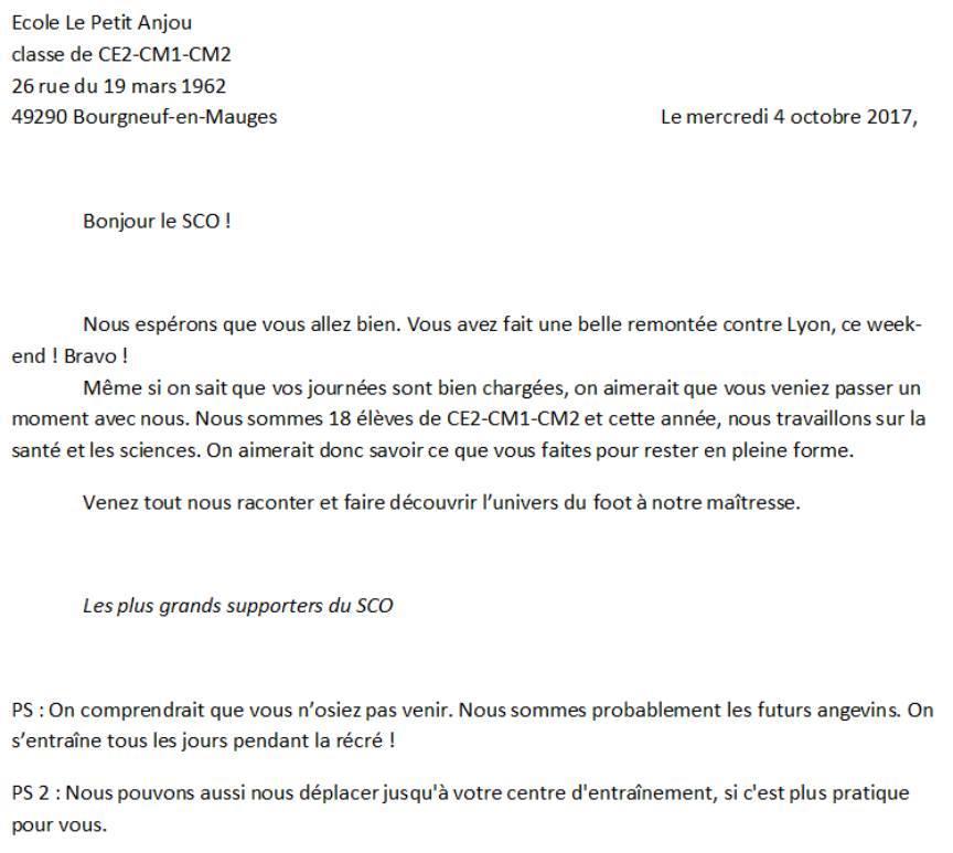 Un message pour le SCO 9b2af102e97