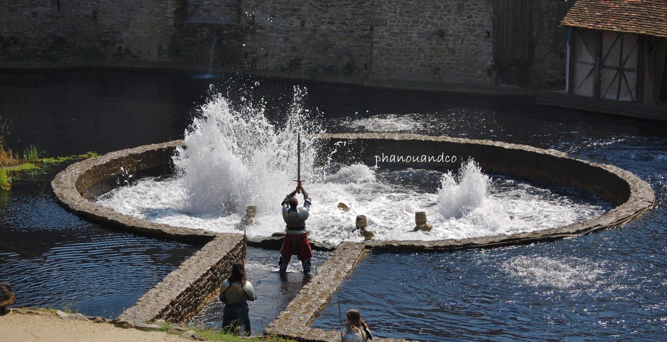 Puy du fou 10 juillet 2013 45 - Les chevaliers de la table ronde puy du fou ...